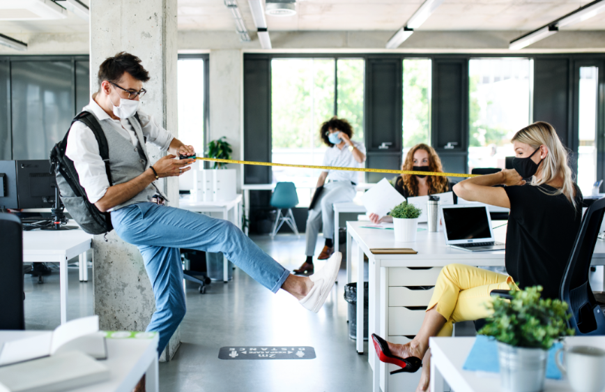 5 Ways To Boost Team Productivity & Positivity With Flexible Workspaces